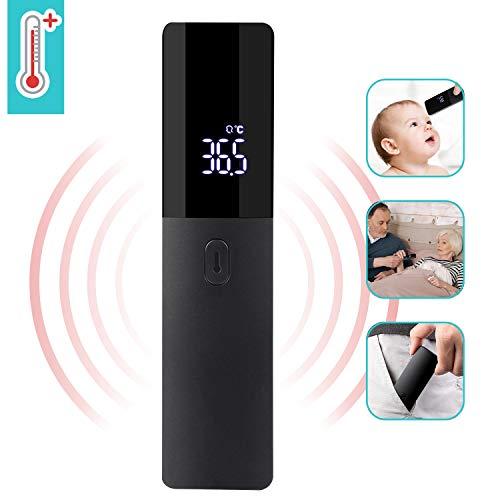 Termómetro Digital sin contacto con Sensor Infrarrojo y Alarma de Fiebre y Pantalla LED para bebés,Niños, Adultos