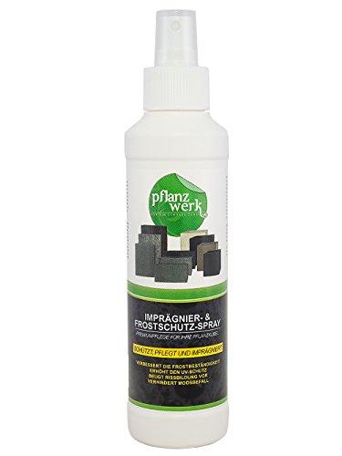 Pflanzwerk® Macetero Spray de impregnación 250ml *ANTICONGELANTE* *PROTECCIÓN UV* *Producto DE...