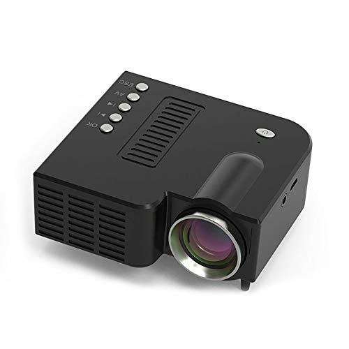 LIPETLI Beamer, 1080p Beamer Full hd, Beamer Heimkino, UnterstüTzt tv Stick Laptop, Smartphone Projektor