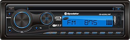 Roadstar CD-825U/HP autoradio met CD/MP3-speler (4x 25 Watt, USB) zwart