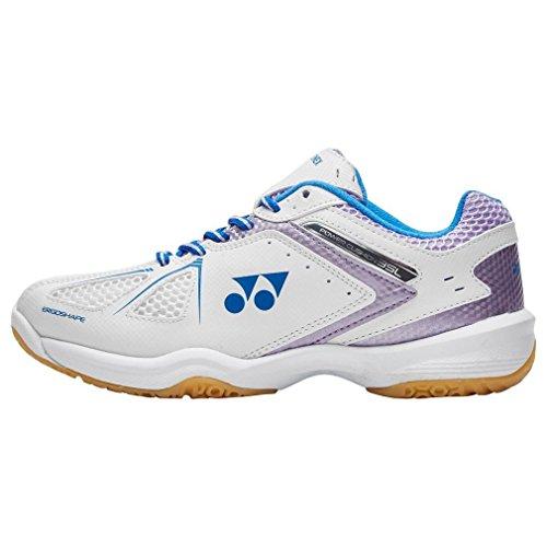 Yonex - Zapatillas de bádminton de Material Sintético para mujer blanco Weiß, color blanco, talla 40.5