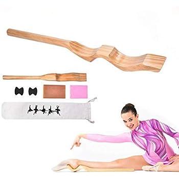 Hopopula Fitness Holzballettstange Wandmontage Ballettstange Dance Stretch Einzel Doppelstange Holz Feste H/öhe Wandmontage Ballettstange System 1.5M Wei/ß