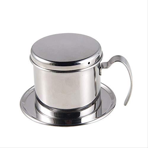 Draagbare RVS Vietnam Koffie Druppelaar Herbruikbare Filter Koffie Druppelpot V60 Druppelaar Koffie Filter Cup