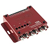 DS18 V5HL 5-Channel Line Out Converter, High-Level Speaker Signal to Low-Level RCA Adapter with Built-in Audio Sensing Technology; Produces Remote Trigger Output to Control Your Aftermarket Equipment