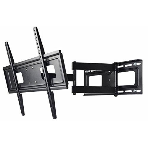 VideoSecu Mount Articulating TV Wall Mount for Most 32' 37' 39' 40' 42' 46' 47' 50' 52' 55' 58' 60' 62' 63' 65' LCD LED Plasma Flat Panel TV with VESA from 200x100 to 400x400, 600x400mm MW365BBM7 BM7