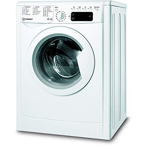 Indesit IWDD75145UKN 7kg Wash 5kg Dry 1400rpm Freestanding Washer Dryer - White