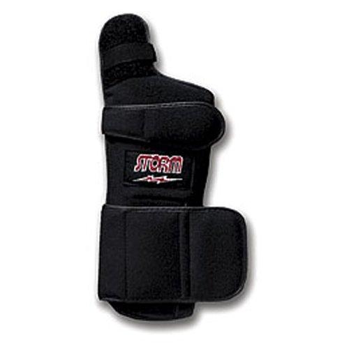 Storm Xtra-Hook Wrist Support, Black, Large, Left