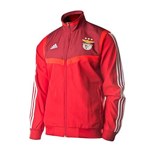 adidas - SL Benfica -  Casaco Pre 19/20 (Cl9768) Chaqueta, Unisex Adulto, Rojo, S