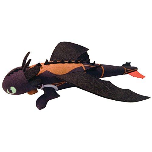 Spin Master 6024156 - DreamWorks Dragons - Slinging Toothless Plüsch  35cm