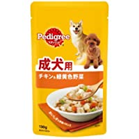 MARS ペディグリーウェット パウチ 成犬用 旨みチキン&緑黄色野菜 130g [P104]