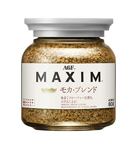 AGF マキシム モカブレンド 瓶 80g 【 インスタントコーヒー 】