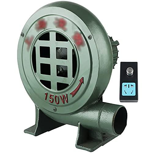 CFYP Ventilador de Barbacoa Ventilador Eléctrico de Soplador de Aire Soplador de Hojas para Limpieza de Computadoras, Aspirador de Ordenador 220V 50 / 60H