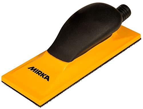 Mirka 8391500111 Handblock Grip 22 L, 70 x 198 mm, Gelb