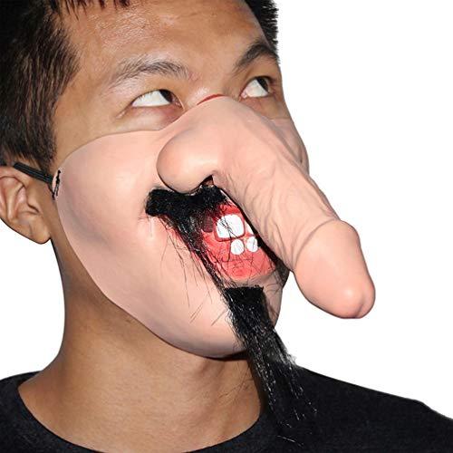 Amosfun masque spoof créatif horreur effrayant masque...