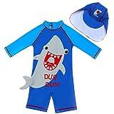 Niño Traje de Baño Ropa de Natación con Protección Solar Una Pieza Bañadores Traje de Buceo Anti UV Traje de Neopreno de Surf