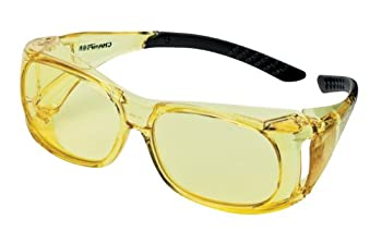 Champion Over-Spec Ballistic Glasses  Amber