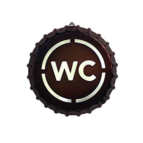 Yissma wandlamp bier fles kap nacht licht industrie retro kamer lobby slaapkamer hotel gang restaurant bar loft Light, 290x290x40mm