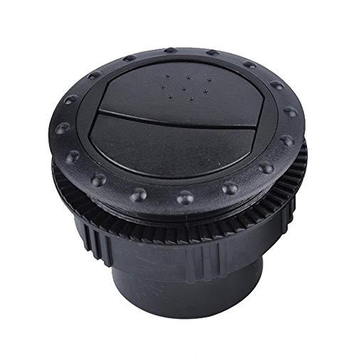 RV Universal Aire Acondicionado Outlet Round Durable Coche Aire Acondicionado Vent Negro