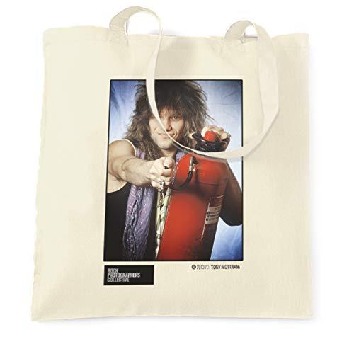 Rock Photographers Collective Jon Bon Jovi (2) 1986, TM Stofftaschen - Natürlich/One Size