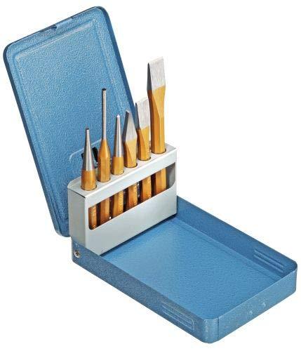 GEDORE SB 106 D Juego de Herramientas (6 Piezas, en Estuche metálico), Azul