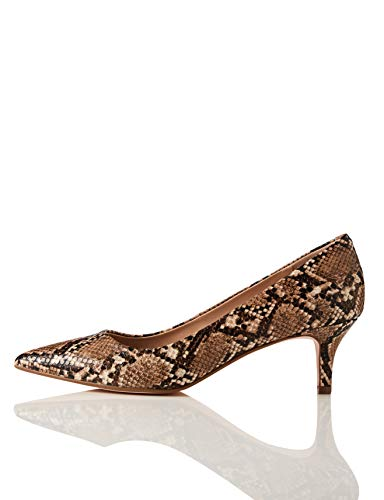 find. Damen Kitten Court  Closed-Toe Pumps, Braun Brown Snake), 36 EU(3 UK)