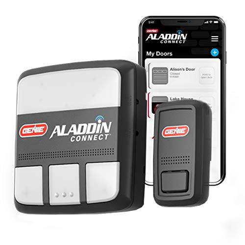 Genie ALKT1-R Aladdin Connect Smart Garage Door Opener, Kit, Works with Alexa & Google Assistant