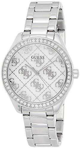 Guess Watches Ladies Sugar Damen Uhr analog Quarzwerk mit Edelstahl Armband GW0001L1
