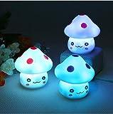 WWWL Luz de la noche romántica colorida seta Navidad LED noche lámpara de la noche dormitorio dormitorio escritorio lámpara para bebé niños juguete regalo decoración dropship