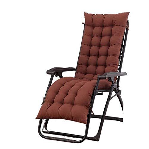 JONJUMP - Cuscino da giardino per sedie da giardino e patio, per rilassare il mal di schiena per anziani