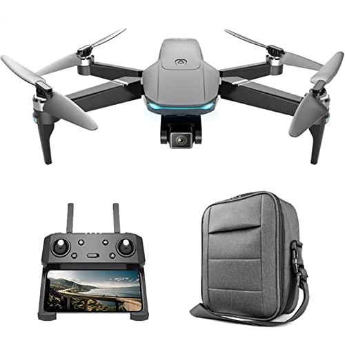 JJDSN Drone GPS con Doppia Fotocamera 4K 5G WiFi FPV Drone con Motore brushless Distanza di 2 km 30 Minuti Tempo di Volo Quadricottero RC, Seguimi, Ritorno Automatico a casa, Volo di accerchiament