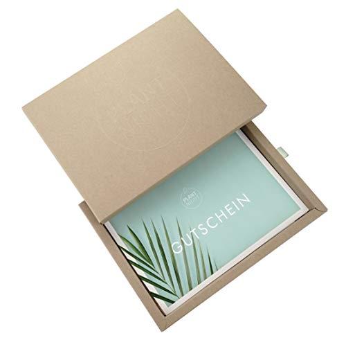 PlantNight Erlebnis Gutschein von ArtNight | Hochwertige Geschenkbox aus Höhle Der Löwen | Für einen ultimativen Pflanzen Workshop