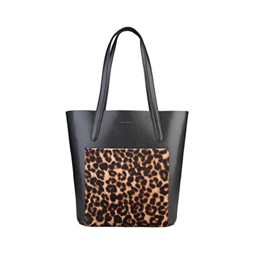 shopping bag Coccinelle Negro bolsos - TRINIDAD_TI7-11-02-01_921_NEROMACULATO - NOSIZE
