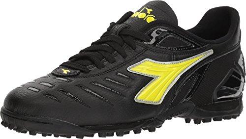 Diadora Maracana 18 TF Black/Fluo Yellow 9 D (M)