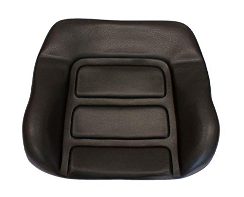 Profistop Rückenpolster Rückenkissen passend Grammer DS85 / 90AR PVC schwarz Schlepper Stapler Linde