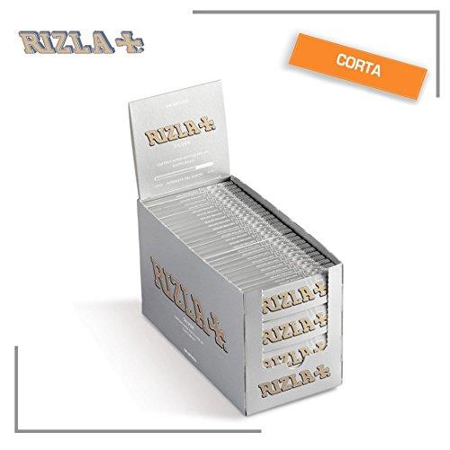 Rizla Regular Silber Rolling Paper Full 100Stück Packungen/Booklets