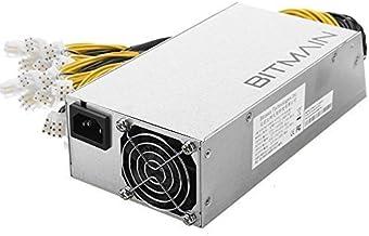 AntMiner Bitmain Second Hand Power Supply APW7 PSU 1800w 110v 220v for S9 or L3+ or Z9 Mini or D3 w/ 10 Connectors
