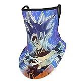 Son Goku Ultra Instict Mastered Ultra Instinct Ultra-Instinc Polaina para el cuello Pañuelo facial...