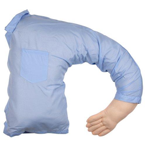 Coussin oreiller Boyfriend Bleu Polyester Lavable en machine La chaise longue 31-C2-242
