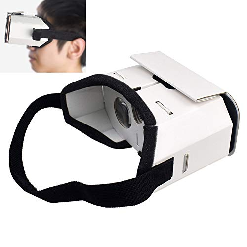 BoJayh VR Glasses Virtual Reality Phone Glasses Assemble Virtual Reality Glasses The Best Gift For Children And Adults