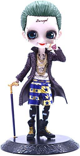 KIJIGHG Figura de Anime Una Figura de Suicide Squad (El Joker) Modelo de Personaje de Dibujos Animados de Anime