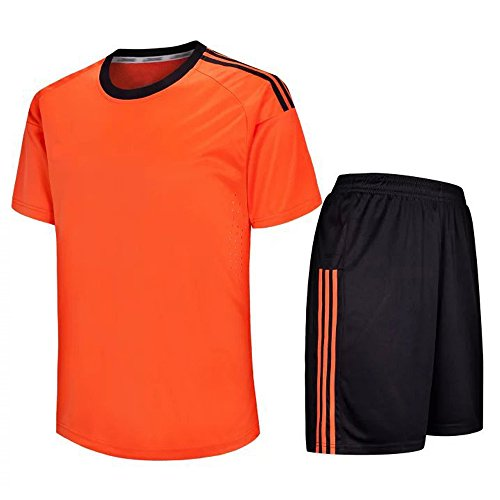 XFentech Jersey de fútbol, Camiseta de fútbol de Manga Corta + Pantalones de...