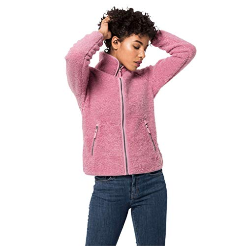 Jack Wolfskin Damen Queen Street Jacke, Dusty Pink, XL