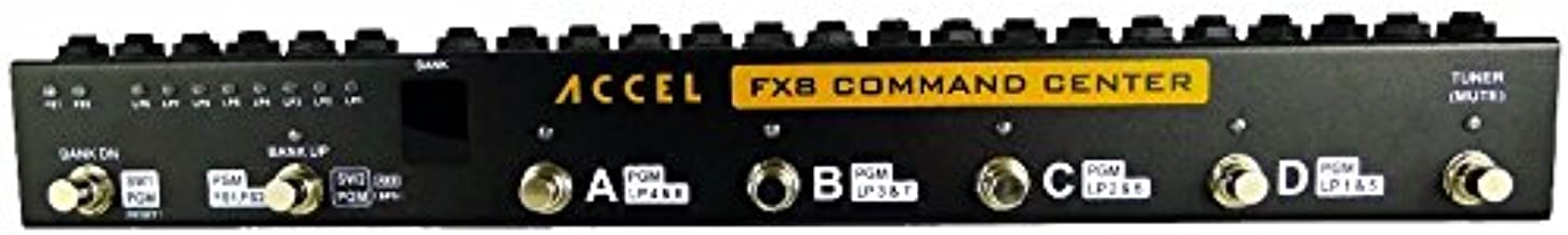 Guitar Effects Pedal 8 Loop Switcher, Accel FX8 Command Center