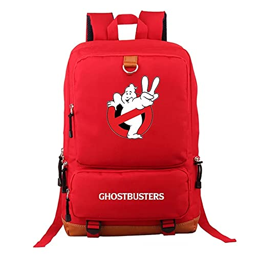 LoYNI Ghostbusters Students Lightweight School Backpack Canvas Book...