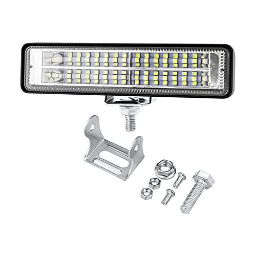 Bandas de faros del coche 18W LED Work Light Bar para Coche Al aire libre Camping Emergencia Reparación Spotlight LED Light Bar Offroad Boat Truck ATV SUV 12V 24V (Color : 1pcs)