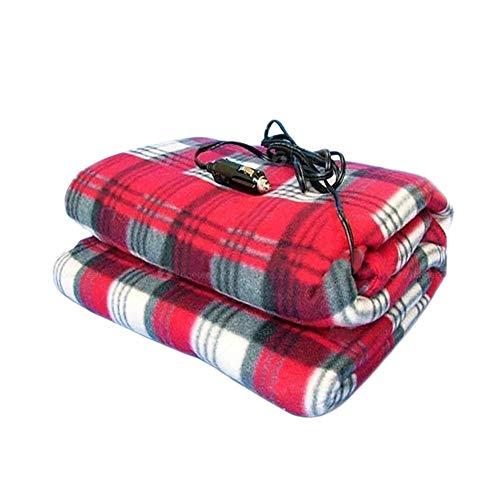 Rubyu 12V verwarmingsdeken, grote elektrische verwarmingsdeken, comfortabele zachte matras, outdoor-reis, verwarmingsdeken voor auto, vrachtwagen, boten