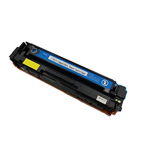 Compatible para HP CF400A 201A Cartucho de tóner de repuesto para HP Color Laser Jet M252dw M252n MFP M277dw M277n M274n, con chip-blue