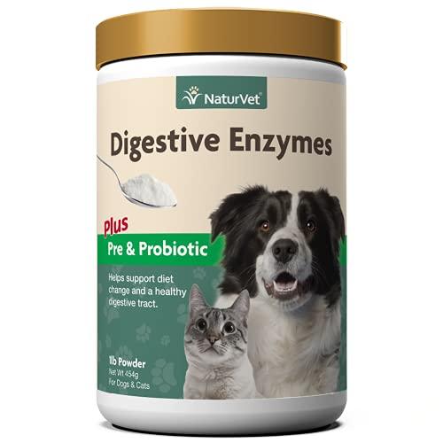 Top 10 best selling list for naturvet digestive enzymes plus probiotics supplement for cats