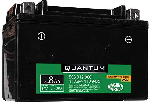 Batteria Quantum-Marelli 8ah Agm C/Acido-S/Manutenzione