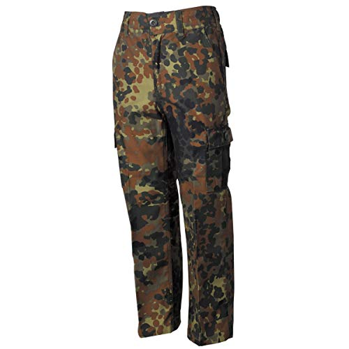 MFH US Army BDU Kinderhose für Jungen und Mädchen (Flecktarn/L (146/152))